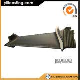 Piezas das alta temperatura del turbocompresor de la lámina de turbina de la colada en cámara de vacío de la aleación