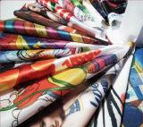 Dirigere il tessuto del raso della tessile di sublimazione della tintura