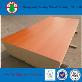 18mm Red Cherry Melamine MDF voor Furniture Use