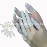 Amarelo Antistatic ESD borracha Finger Cots