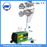 Light Tower 8kw Tipo de Trailer Gerador Diesel com 4 Light Construction Light Tower