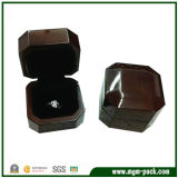 Cadre de bijou en bois du plus défunt organisateur lustré élevé de bijou