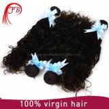 卸し売り工場価格の自然な波のバージンのインドの人間の毛髪の束