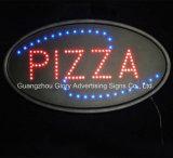 Muestra abierto-cerrado de acrílico de neón a todo color del LED