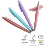 Crayon lecteur promotionnel 2 dans 1 couleur en pastel d'aiguille Shaped de rugby pour le matériel de panneau de contact