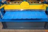 Dxの高性能カラー機械を形作る鋼鉄艶をかけられた屋根瓦ロール