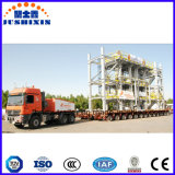 100-200t 300t Heavy Duty Hydraulic Steering Modular Low Bed Semi Semi-remorque