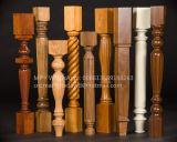 Бейсбольная бита, Lathe машины Woodworking колонки Baluster лестниц