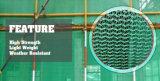 金属アイレットが付いているが付いている中国の供給のHDPEの足場ネット