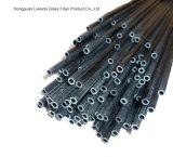 Tubo/tubo/poste ligeros de la fibra del carbón de la alta calidad