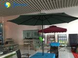 Parasol rechargeable de parapluie de jardin