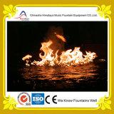 Fonte mágica do incêndio com caraterística especial da água