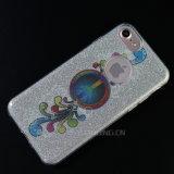 Blingの粉のきらめきのiPhone 7のためのカスタム携帯電話の箱