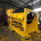 Mobiler Goldtrommel-Bildschirm, Goldwaschmaschine