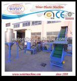 Máquina dobro a rendimento elevado da peletização da película plástica do HDPE do PE dos PP das etapas 300kgs