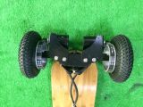큰 타이어 Longboard 4 바퀴 E 스케이트보드