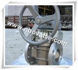 ステンレス鋼のワームギヤ柔らかいシーリングプラグ弁(X47H)