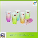 茶ガラス製品のためのカラー及び高品質の飲料水のガラスコップ