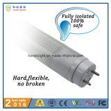 3 años de Ce de la garantía aprobaron el bulbo del tubo de 1200m m 18W LED