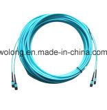 Modo Simplex MPO individual de fibra óptica conector (cable de conexión)