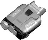 Cámara termal Handheld del rango largo