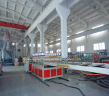 중국 최고 질 PVC 거품 널 밀어남 기계 선