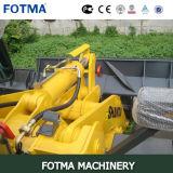 Shantui SL60W carregador da roda da braçadeira do registro de 6 toneladas