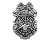Modèle personnalisé promotionnel de la qualité 2017 et insigne de police reçu par logos, insigne en métal