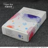 Diseño exquisito mascarilla de caja de cosméticos en China