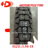 ISO9001, Hochleistungs-, haltbarer Motorrad-Gummireifen/Motorrad-Reifen 3.50-18 weg vom Roard Muster