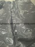 Крышка тележки брезента Китая черная поли, лист брезента PE