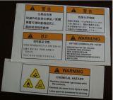Etichetta di avvertimento dell'automobile di obbligazione di Customozed