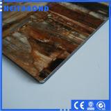 Matériau composite en marbre en aluminium (panneau ACM) avec 14 ans d'usine