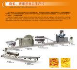 Les enroulements de maïs/Kurkure/Cheetos/Corn grince la machine d'extrudeuse de nourriture et la chaîne de fabrication