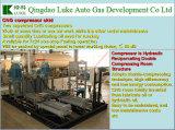 CNG senza olio Skid Mounted Compressor per Natural Gas Compressoring