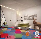Het kleurrijke Tapijt van het Bureau van het Tapijt van het Huis van het Tapijt van de Decoratie Muur aan Muur