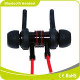 Ruido bajo de la potencia estérea de Bluetooth de la manera que cancela el receptor de cabeza corriente de la aptitud del micrófono de la mano del en-Oído libremente