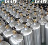0.5L al tanque vacío de aluminio del CO2 recargable 50L