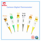 Karikatur-Entwurfs-flexibler Spitze-Digital-Thermometer