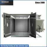 Recirculação mecânica Blastroom ou Blastbooth
