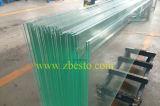 Construction gâchée/stratifiée de fournisseur de brame de verres de sûreté de flotteur de Frameless d'escalier
