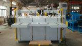 Máquina de costura del rectángulo acanalado semiautomático servo doble del cartón