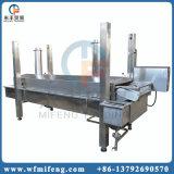 L'igname de chine automatique de Banan de pomme de terre ébrèche la friteuse continue faisant frire la machine