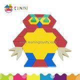 Popular Wholesale Educational Toy Pattern Blocks Puzzle para crianças