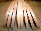 Bordure foncée de placage d'Usine-Bois pour l'usage de meubles dans 16X0.5mm et 19X0.5mm