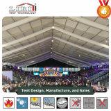 500 de Tent van de Muren van het Glas van mensen voor Partij en Huwelijk in Afrika