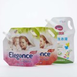 Sacos plásticos do bico do agregado familiar do detergente de lavanderia da estratificação do nylon
