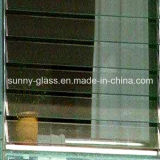 6mm 미늘창 유리 셔터 유리는 Windows를 위한 유리를 눈 멀게 한다