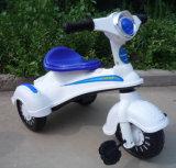 Triciclo elétrico do bebê barato do preço 2016 com pedal, cesta