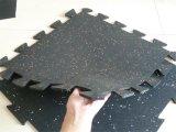 Stuoia di gomma di resistenza di olio, stuoie di gomma di collegamento antiscorrimento del pavimento di ginnastica, stuoia della gomma dei Anti-Batteri